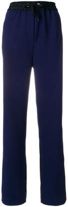 Tommy Hilfiger contrast stripe trousers
