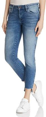 Mavi Jeans Adriana Ankle Super Skinny Jeans in Mid Cheeky