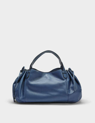 Gerard Darel 24 GD Bag in Blue Jean Calfskin
