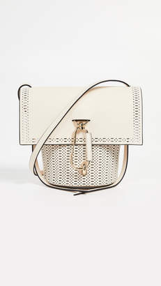 Zac Posen Belay Perforated Crossbody Bag