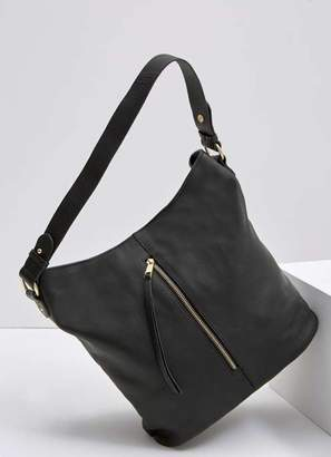 c0e4b0720dd Black Leather Hobo Bags for Women - ShopStyle UK