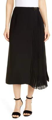 Seventy Black Midi Skirt
