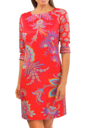 Gretchen Scott Queenie-Jersey Elemental Dress