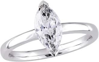 Affinity Diamond Jewelry Affinity 1.00 cttw Diamond Marquise Engagement Ring, 14K