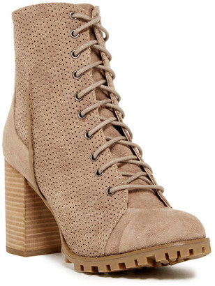 Report Adrian Lace-Up Bootie $90 thestylecure.com