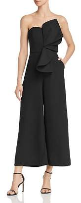 Keepsake Love Light Strapless Ruffle-Accented Jumpsuit - 100% Exclusive