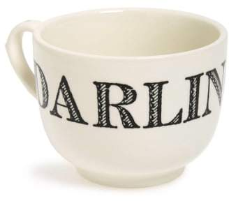 Sir/Madam Sir Madam 'Grand Cup - Darling' Porcelain Coffee Mug