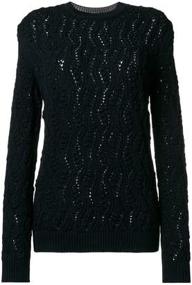 Saint Laurent crew neck jumper