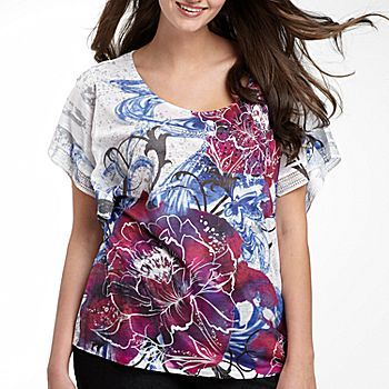 Unity World Wear® Print Top, Plus Size