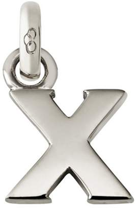 Links of London Sterling Silver Letter X Charm