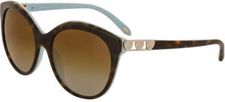 Tiffany & Co. Women's Tf4133f 56Mm Polarized Sunglasses