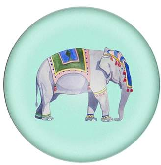 Cathy's Concepts Elephant Domed Glass Paperweight