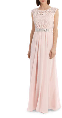 Blush Lace Bodice Dress