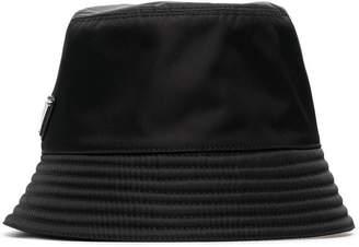 Prada Logo Bucket Hat
