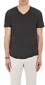 James Perse Men's Jersey V-Neck T-Shirt - Black