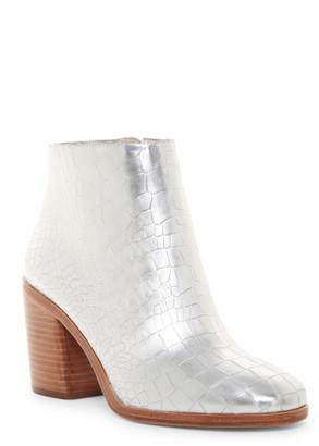 Pour La Victoire Winona Croc Embossed Boot $325 thestylecure.com