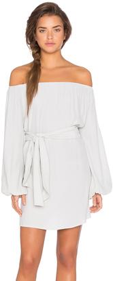 MLM Label Dash Off Shoulder Tie Dress $154 thestylecure.com