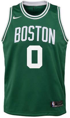 Nike Jayson Tatum Boston Celtics Icon Swingman Jersey, Big Boys (8-20)