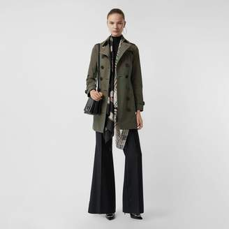 Burberry Sandringham Fit Cotton Gabardine Trench Coat