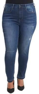 Melissa McCarthy Plus Skinny Jeans