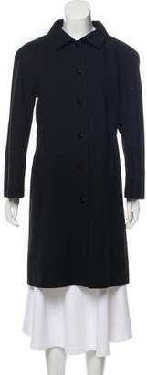Courreges Knee-Length Wool Coat