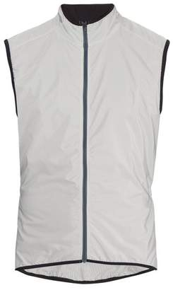 Cafe Du Cycliste - Madeleine Windproof Cycle Gilet - Mens - Grey