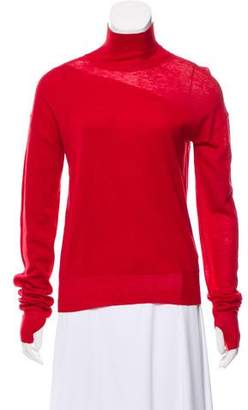 Helmut Lang Wool & Silk Blend Turtleneck Sweater w/ Tags