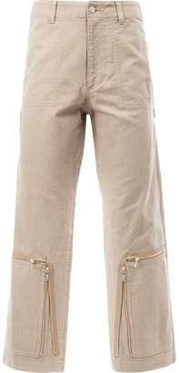 Undercover zip detail trousers