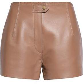 Belstaff Leather Shorts