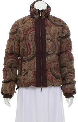 Etro Printed Puffer Jacket