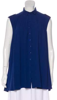 Anne Fontaine Sleeveless Button-Up Tunic