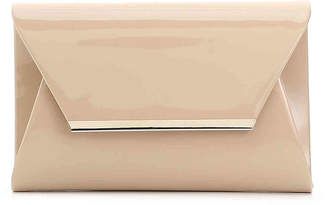 Women's Patent Clutch -Nude $45 thestylecure.com