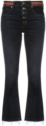 Veronica Beard high-waist cropped jeans