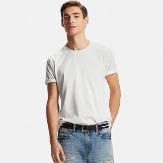 UNIQLO Men's Dry Crew Neck T-Shirt $7.90 thestylecure.com