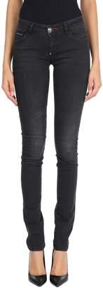 Philipp Plein Denim pants - Item 42720063WN