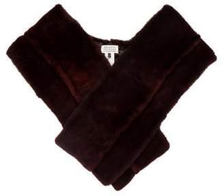 Maison Margiela Wrap-Around Fur Stole