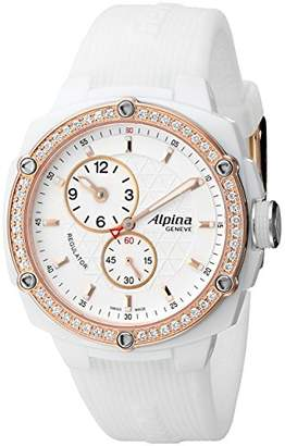 Alpina Adventure Avalanche Extreme Regulator White Ceramic Automatic Diamond Watch AL-650LSSS3AEDC4