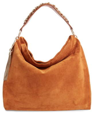 Jimmy Choo Callie Suede Hobo