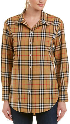 Burberry Vintage Check Button-Up Shirt