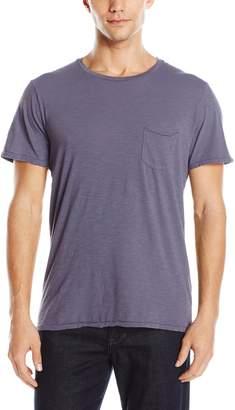 Joe's Jeans Men's Chase Raw Edge Crew Luxe Slub T-Shirt