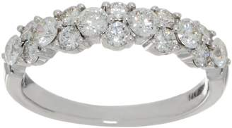 Affinity Diamond Jewelry Diamond Garland Band Ring, 1.00 cttw, 14K, by Affinity