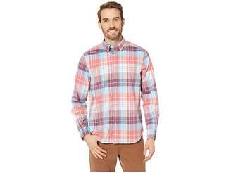 Nautica Long Sleeve Casual Warm Plaid Shirt