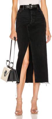 GRLFRND Isla Maxi Skirt in Some Sin   FWRD