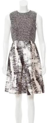 Max Mara Printed Silk Dress