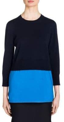 Marni Wool-Cashmere Blend Pullover