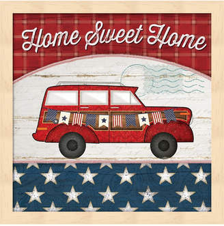 Metaverse Home Sweet Home By Jennifer Pugh Framed Art