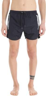 Neil Barrett Black Nylon Swimwear
