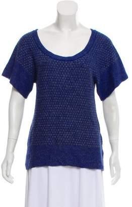 IRO Short Sleeve Knit Top