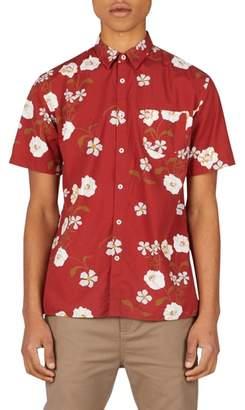 Zanerobe Floral Woven Shirt