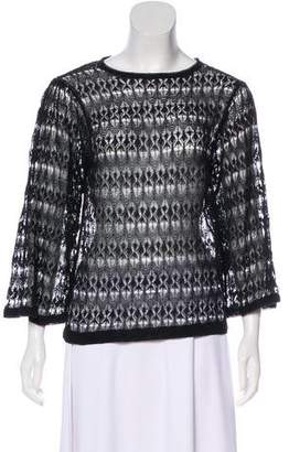 Isabel Marant Bell Sleeve Lace Top